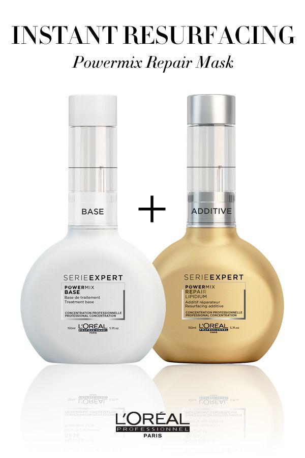 loreal power mix hair repair treatment